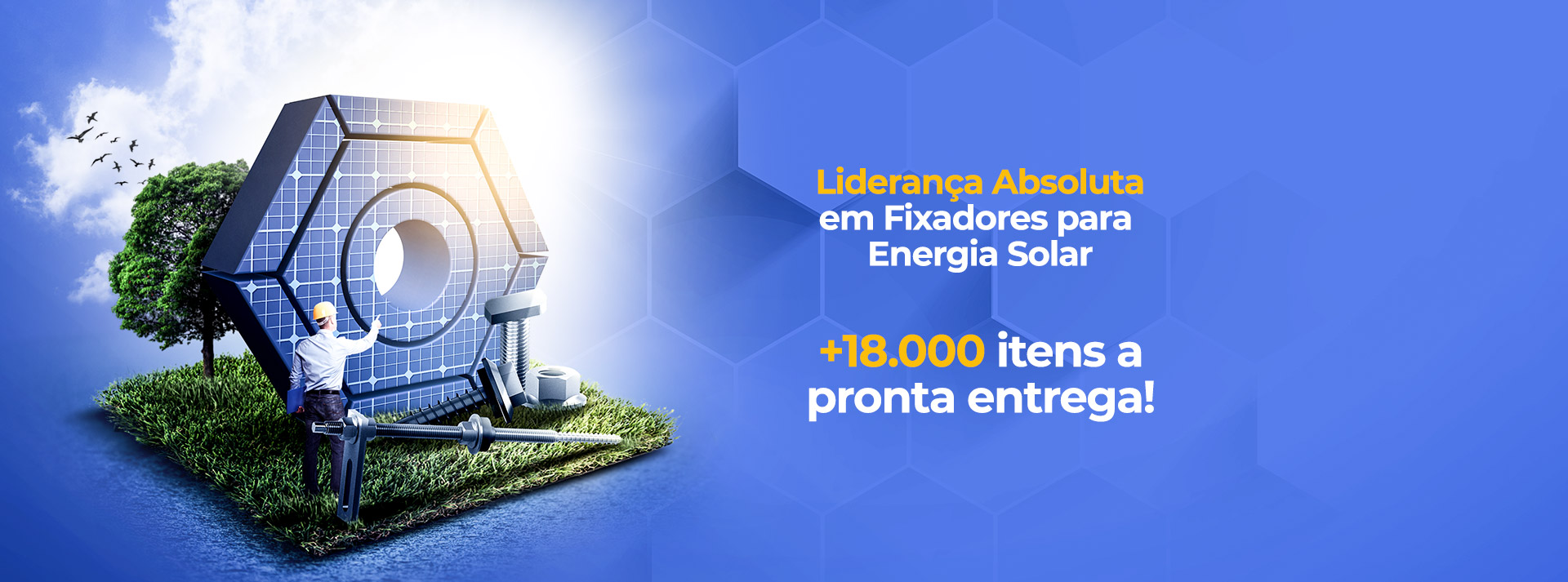fixadores painéis solares